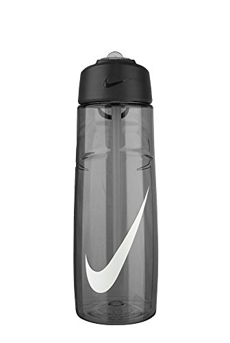 Nike T1 Flow Swoosh Water Bottle (24oz, Anthracite/White) (Nike Flow Water Bottle compare prices)