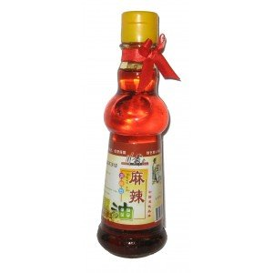 Spicy King Sichuan Peppercorn and Chili oil 5.07oz (Spicy Oil)by D&J Asian Market