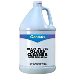 Genlabs Ready to Use Glass Cleaner w/Ammonia - Gal.