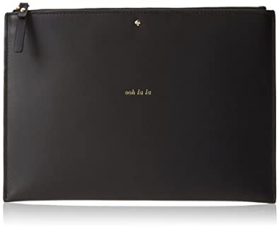 kate spade new york 2 Park Avenue Medium Bella Pouch Wallet,Black,One Size