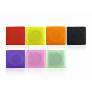 7 x Silicone Skin Case Cover for iPod Shuffle 4 Gen Gen