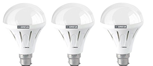 10W ECO LED Bulb (Warm White , pack of 3)