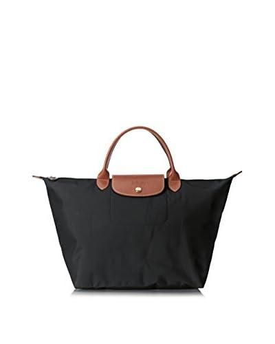 Longchamp Women's Le Pliage Sac Porté Main M Top Handle, Black