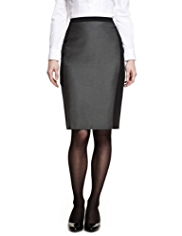 M&S Collection Contrast Panelled Skirt