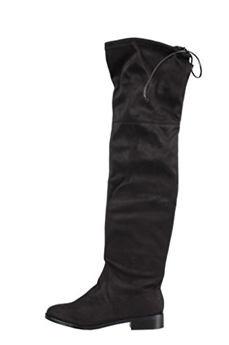 Steve Madden Odina Boots Black - Stivaletti Neri Camoscio