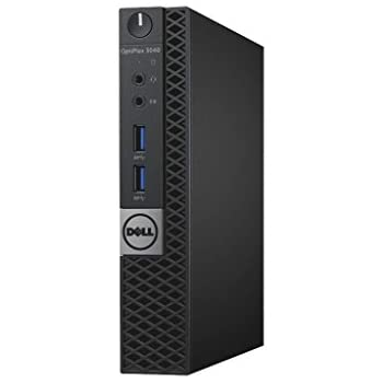 Dell OptiPlex 3000 Series Micro (3040) Desktop with Intel Core i3-6100T / 4GB / 500GB / Win 7 Pro / 3Yr Warranty