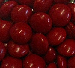 Red Milk Chocolate Gems (Lentils) 1LB Bag (Red Milk Chocolate Gems compare prices)