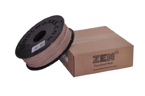 Zen ToolworksTM 3D Printer 1.75mm Wood Filament 1kg (2.2lbs) Spool