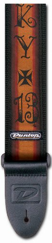 Jim Dunlop D3817Lc Strap Lucky 13 Iron Cross front-174998