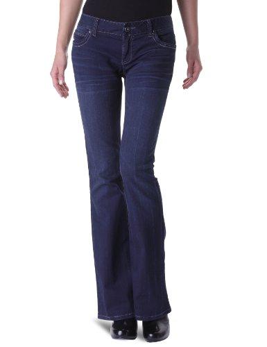 Tom Tailor - Jeans boot cut, donna, Blu (Blau (1100)), 40 IT (26W/32L)