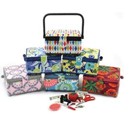 Review Of Prym Sewing Promotional Sewing Basket 7 1/2'X7 1/2'X4 3/8'