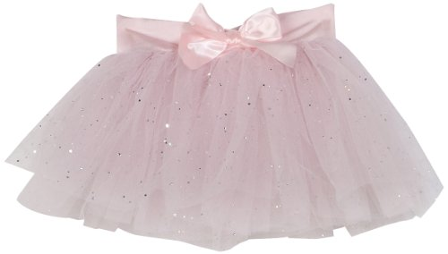 Capezio Girls 2-6x Children'S Tutu Skirt W/ Glitter Tulle,Pink, Intermediate ( 6-8)