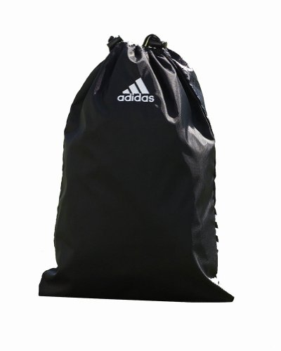 Adidas Golf University Drawstring Shoe Bag, Black, OS