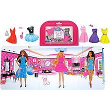 Barbie Dress Up Magnetic Activity Fun - 1