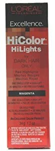 L'Oreal Excel Hicolor Highlights Magenta 34 g (3-Pack)