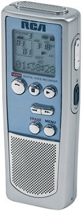 RCA RP5035 128 MB Digital Voice Recorder