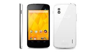 LG E960 Google Nexus 4 Unlocked GSM Phone, 16Gb, International Version - White