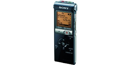 Sony ICD-UX512 2 GB Flash Memory Digital Voice Recorder (Color varies) (Color: Silver)