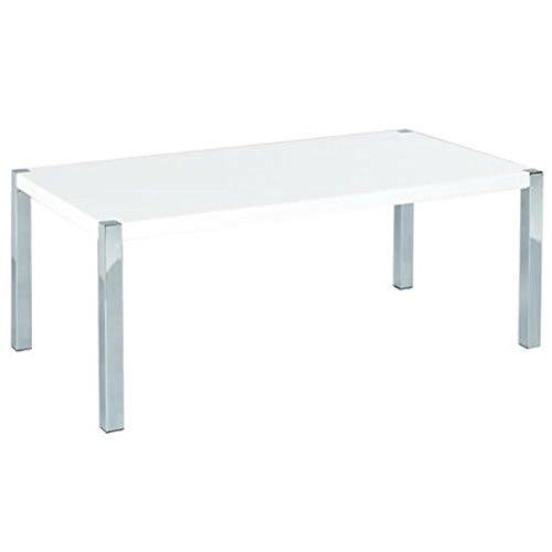 Centro Uno Novello salotto tavolo bevande, colore: bianco