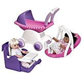 American Plastic Toy My Doll 3 Piece Play Set