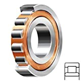 SKF NU 2205 ECP Cylindrical Roller Bearing, Straight Bore, Removable Inner Ring, High Capacity, Polyamide/Nylon Cage, Metric, Normal Clearance, 25mm Bore, 52mm OD, 18mm Width