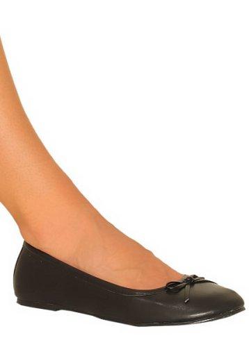 Cheap Prima Black – Ballerina-style Flats – CLOSEOUT (B000F4W5V8)