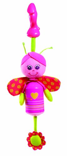 Tiny Love Smarts Wind Chime Clip on Toy, Baby Butterfly - 1