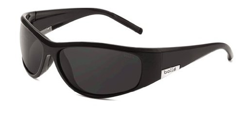 Bolle Formula Sunglasses, Shiny Black with Polarized T Lens