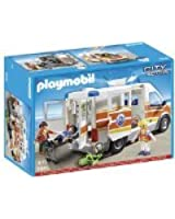 Playmobil - A1401867 - Ambulance Et Secouriste