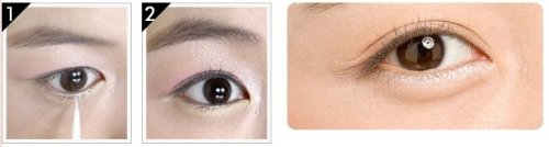 Etude House Tear Drop Liner #1 White Tear 8g etude house soft touch