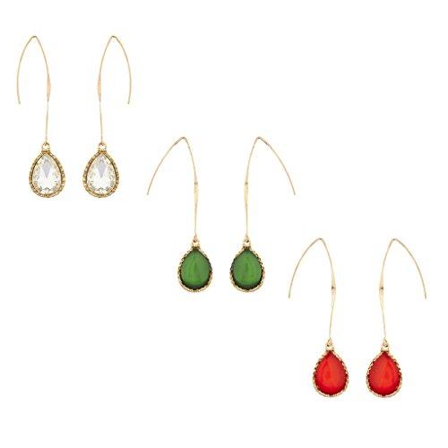lux-accessoires-de-noel-rouge-blanc-parure-boucles-doreilles-goutte-avec-cristal