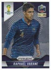 Panini Prizm World Cup Brazil 2014 Base Card # 78 Raphael Varane France
