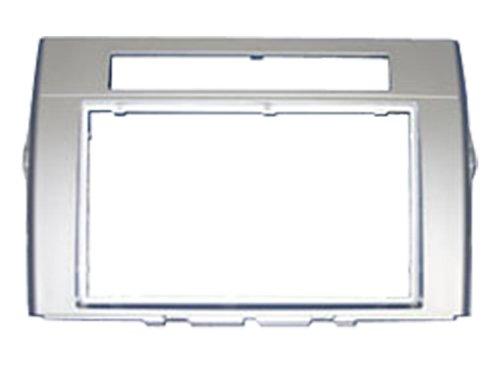 autoleads-dfp-11-11-s-adattatore-mascherina-autoradio-2-din-per-toyota-corolla-verso-colore-argento