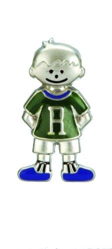 Mini My Kid's Initial Tag - Boy - R