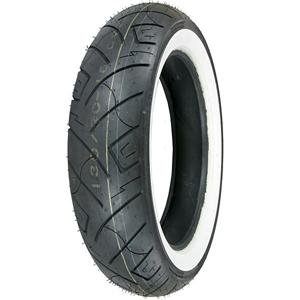 Shinko 777 Whitewall Rear Tire - 150/80-16/White 