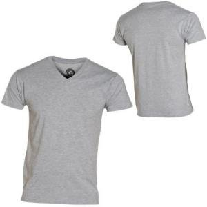 Mens V-Neck Tee Shirt Volcom Short-Sleeve T-Shirt
