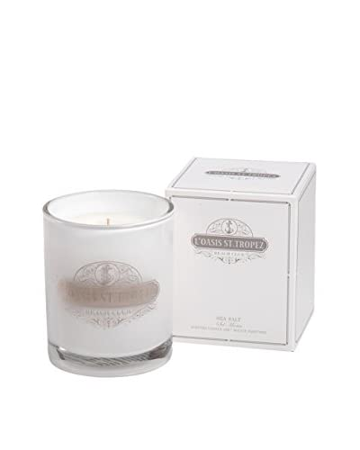 Zodax Large L' Oasis St. Tropez Beach Club Candle