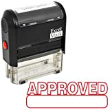 APPROVED Self Inking Rubber Stamp - Red Ink (42A1539WEB-R)