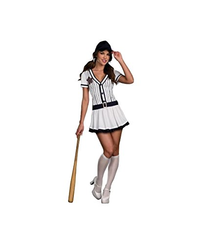 All Star Hottie Baseball Player Womens Sexy Sports Halloween Costume