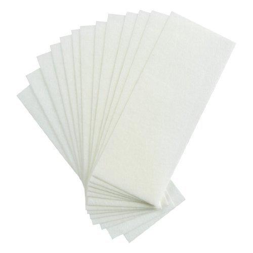 Mintbon 100 Pcs Non Woven Facial Leg Body Hair Removal Wax Strips Paper (Facial Hair Removal Wax Strips compare prices)