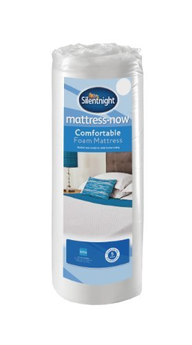 Silentnight Mattress Comfortable Foam Rolled Mattress, Single