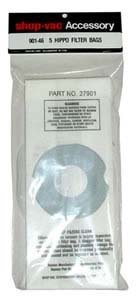 Shop-Vac Filter Bag Replacement For Hippo Vacuum 5/Pk
