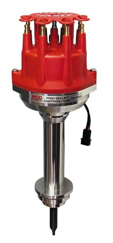 Proform 67040 Vacuum Advance HEI Distributor with Steel Gear and Red Cap for Mopar 273-360