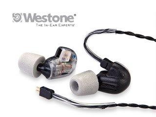 Westone ケーブル交換が可能なカナル型ハイエンドモデルイヤホン WST-UM3XRC ブラック/クリア