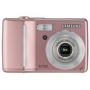 Samsung Digimax S730 7.2MP Digital Camera with 3x Optical Zoom (Pink) (Samsung S730 compare prices)