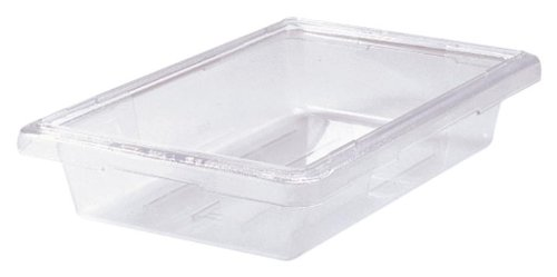 Rubbermaid Commercial Fg330700Clr Food/Tote Box, 2-Gallon