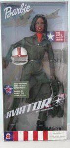 Barbie Aviator Doll Black African American 2001