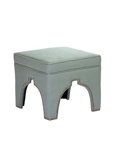 Zentique Marnix Cubic Stool, Sea Foam Green
