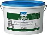 Herbol Farbe Profi Din Weiss 12.5 Liter Wandfarbe Innenfarbe