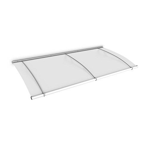 vordach haust r berdachung acrylglas stahl wei pultvordach schulte acrylglas satiniert 190. Black Bedroom Furniture Sets. Home Design Ideas